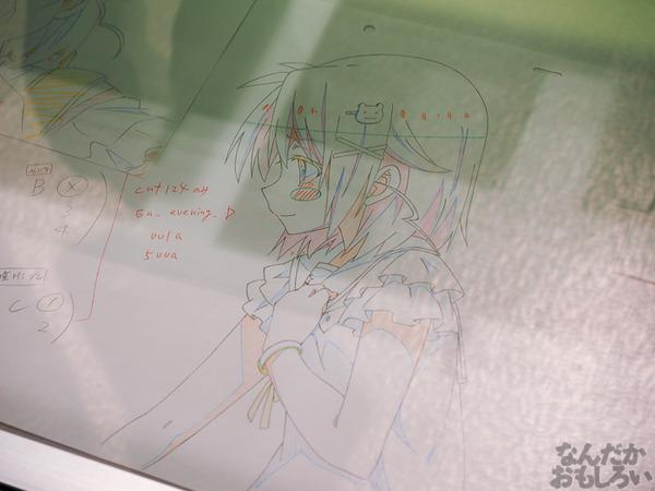 TVアニメ『がっこうぐらし!』展が秋葉原で開催 笑顔・絶望顔など貴重な生原画、缶詰、サイン入りシャベルなどたくさん展示!0078