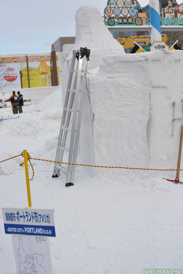 『SNOW MIKU 2014』西11丁目会場の雪ミク雪像や物販の様子などなど_0154