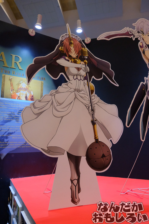 『Fate/Apocrypha』インドネシアのイベントで両陣営サーヴァント大集結の大規模展示!その様子を写真でお届け5698