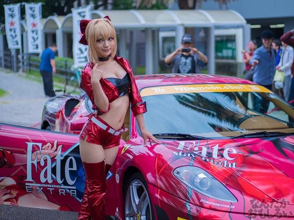 『マチアソビvol.15』武内崇さん描き下ろし痛車「Fateシリーズ」仕様のフェラーリ展示!ハイクオリティな超高級痛車を撮影してきた0005