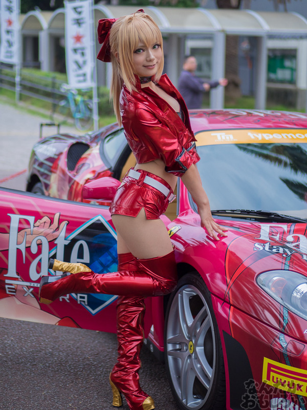 『マチアソビvol.15』武内崇さん描き下ろし痛車「Fateシリーズ」仕様のフェラーリ展示!ハイクオリティな超高級痛車を撮影してきた0006