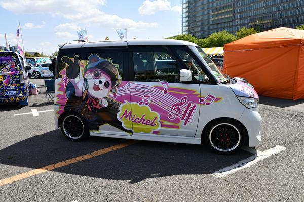 『痛車天国2018』ガルパブーム到来!大集結した「バンドリ!ガールズバンドパーティ!」痛車をレポート 人気はロゼリア、Poppin'Party-2