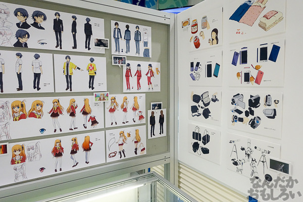 TVアニメ放送中「Charlotte」の貴重な原画を大量展示した展示会がアキバで開催!早速会場の様子をお届け_3583
