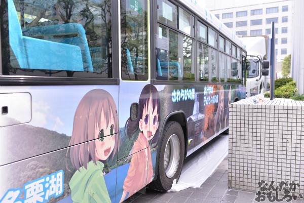 アニ玉祭 ヤマノススメ ラッピングバス フォトレポート_6183