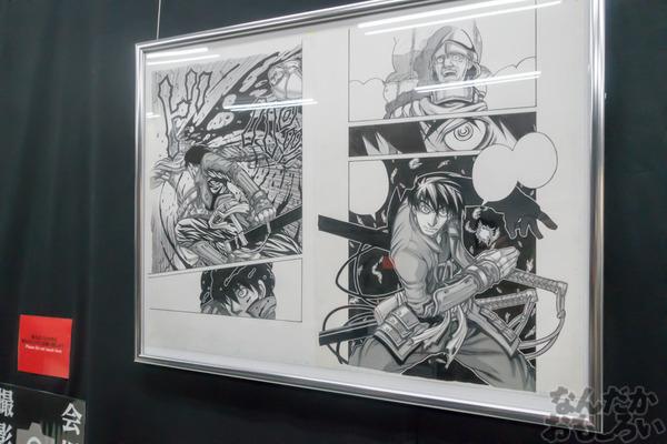 生原稿な模造刀、グッズ販売も「ドリフターズ原画展」秋葉原で開催!02554