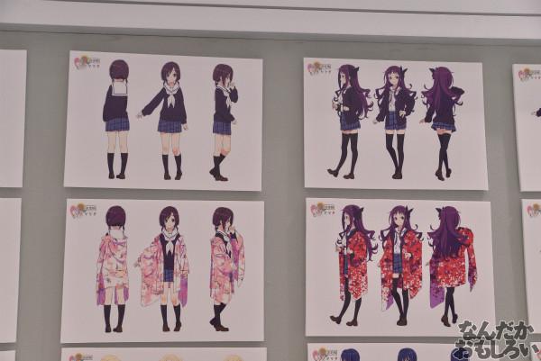 TVアニメ「ハナヤマタ」展が秋葉原で開催!原画、設定資料、台本、コラボ商品など数多く展示!_8484