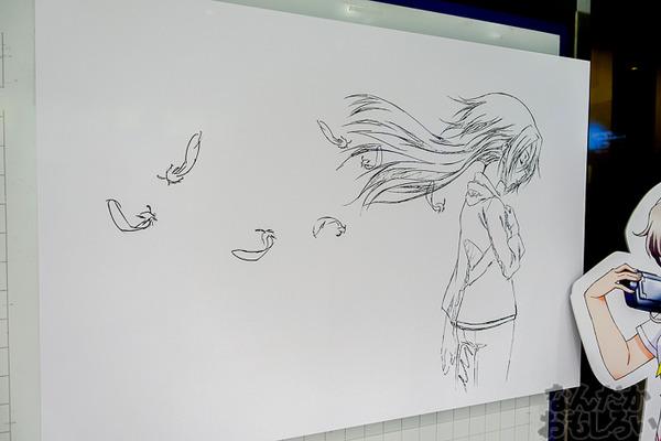 TVアニメ放送中「Charlotte」の貴重な原画を大量展示した展示会がアキバで開催!早速会場の様子をお届け_3560