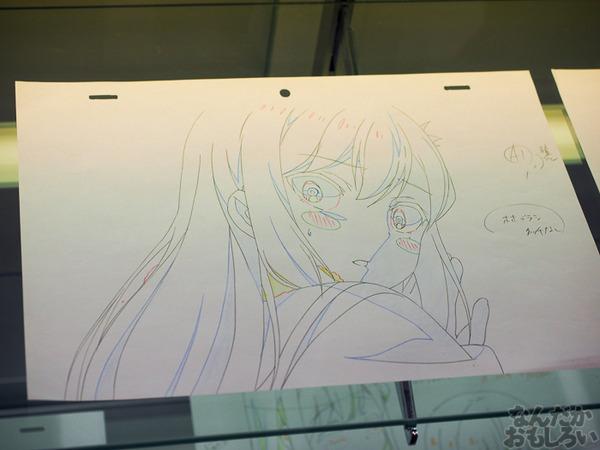 TVアニメ『がっこうぐらし!』展が秋葉原で開催 笑顔・絶望顔など貴重な生原画、缶詰、サイン入りシャベルなどたくさん展示!0062