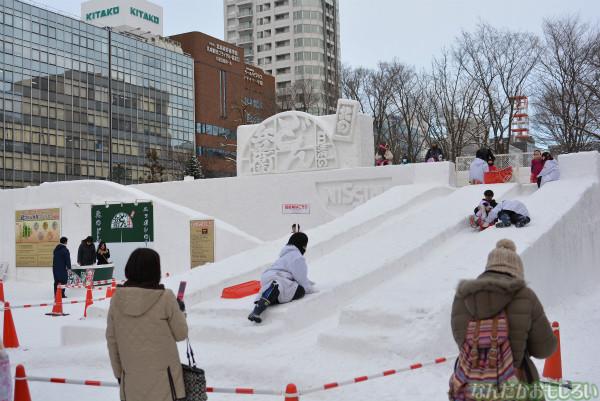 『SNOW MIKU 2014』西11丁目会場の雪ミク雪像や物販の様子などなど_0162