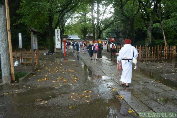 『鷲宮 土師祭2013』ゲリラ雷雨の様子_0674