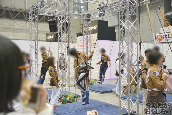 """実際に""""立体機動""""を体験!『ニコニコ超会議3』「進撃の巨人」「Free!」「アイドルマスター」関連のコーナーを紹介_0013"""