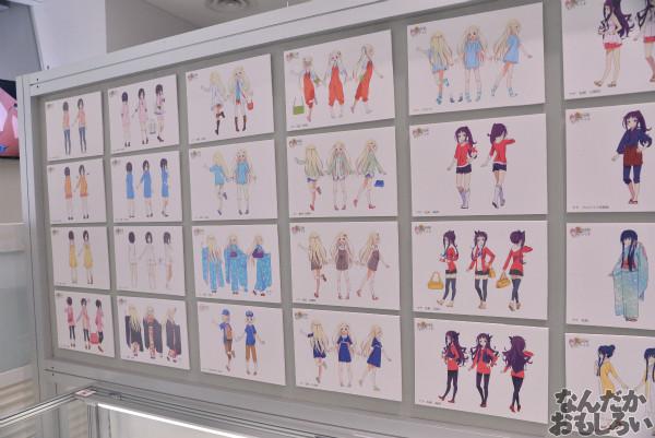 TVアニメ「ハナヤマタ」展が秋葉原で開催!原画、設定資料、台本、コラボ商品など数多く展示!_8490