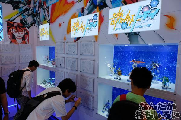 『C3AFA バンコク 2017』あの泣いちゃうシーン再び…バンダイブースでガンプラ&「鉄血のオルフェンズ」などアニメ原画展示などを実施9466
