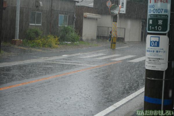 『鷲宮 土師祭2013』ゲリラ雷雨の様子_0659