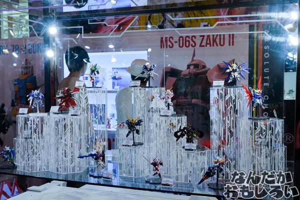 『C3AFA バンコク 2017』あの泣いちゃうシーン再び…バンダイブースでガンプラ&「鉄血のオルフェンズ」などアニメ原画展示などを実施9463