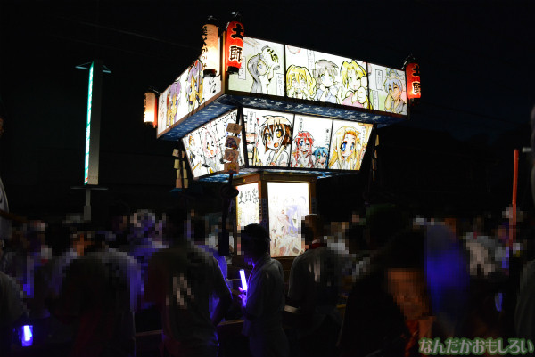 『鷲宮 土師祭2013』らき☆すた神輿_0726