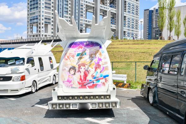 『痛車天国2018』ガルパブーム到来!大集結した「バンドリ!ガールズバンドパーティ!」痛車をレポート 人気はロゼリア、Poppin'Party-9