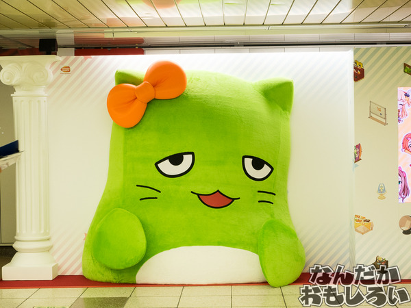 『デレステ』シンデレラガールズが新宿駅地下道をジャック!圧倒的豪華なデレステ広告をフォトレポート!0968