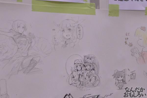 『博麗神社秋季例大祭』様々な「東方Project」キャラが描かれたラクガキコーナーを紹介_1242
