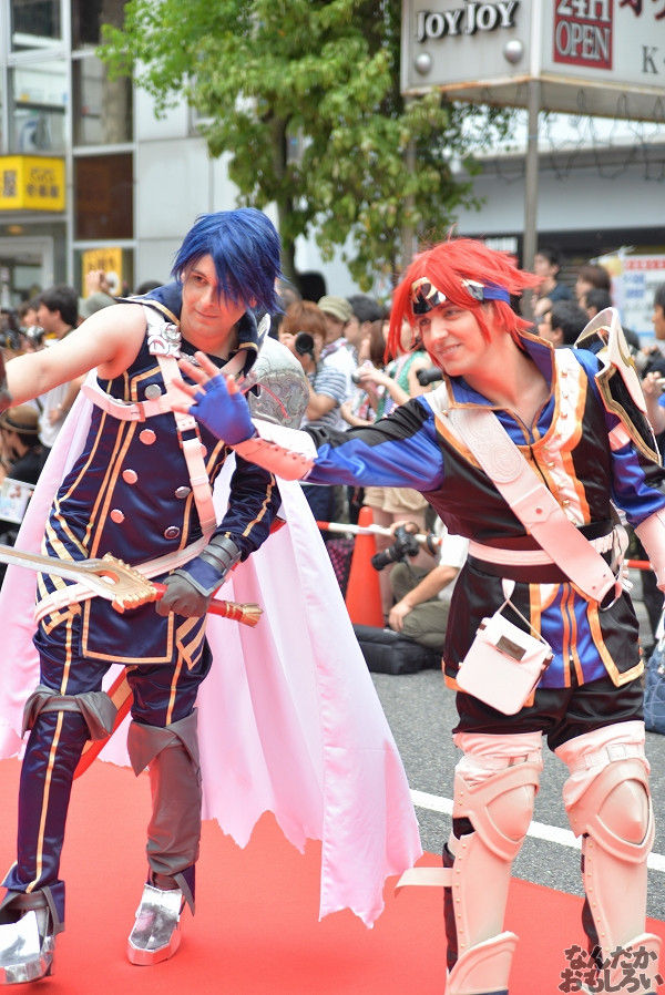 26カ国参加!『世界コスプレサミット2014』各国代表のレイヤーさんが名古屋市内をパレード_0301