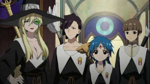 マギ The Kingdom of magic 第16話、第17話感想 5