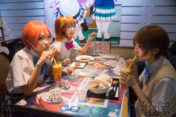 ラブライブ!×香港youme cafeのカフェ写真画像フォトレポート_6831