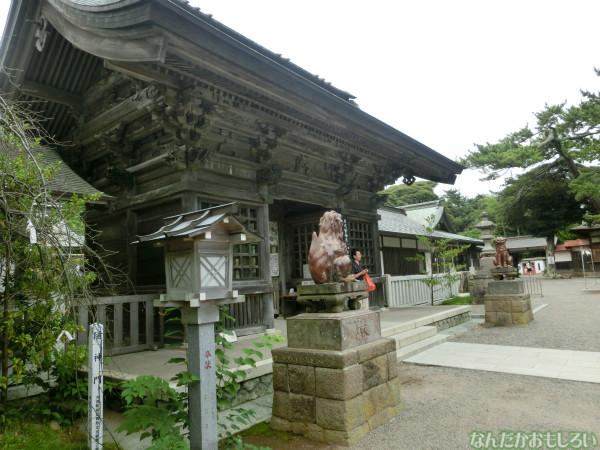 ガールズ&パンツァー 大洗磯前神社の板絵馬 - 3909