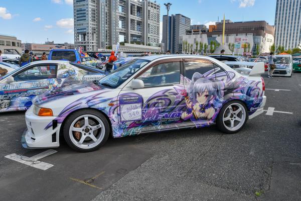 『痛車天国2018』765プロ、346プロのアイドルが集結!「アイドルマスター」シリーズ痛車レポート-7