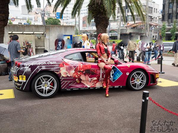 『マチアソビvol.15』武内崇さん描き下ろし痛車「Fateシリーズ」仕様のフェラーリ展示!ハイクオリティな超高級痛車を撮影してきた0011