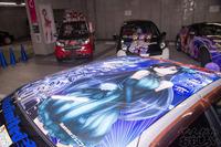 秋葉原UDX駐車場のアイドルマスター・デレマス痛車オフ会の写真画像_6458