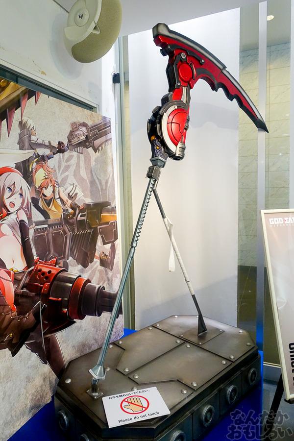 等身大オウガテイルや武器、貴重なアニメ資料も!『GOD EATER』展が秋葉原で開催中!早速その様子をフォトレポート_03460