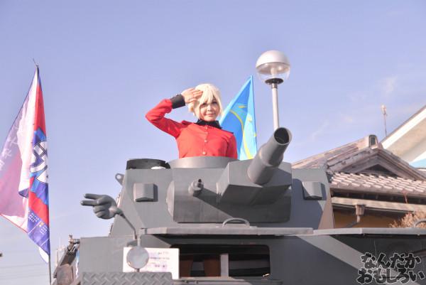 ガルパン痛車や実物大戦車模型をバッグにレイヤーさんを撮影!『第18回大洗あんこう祭』コスプレフォトレポート