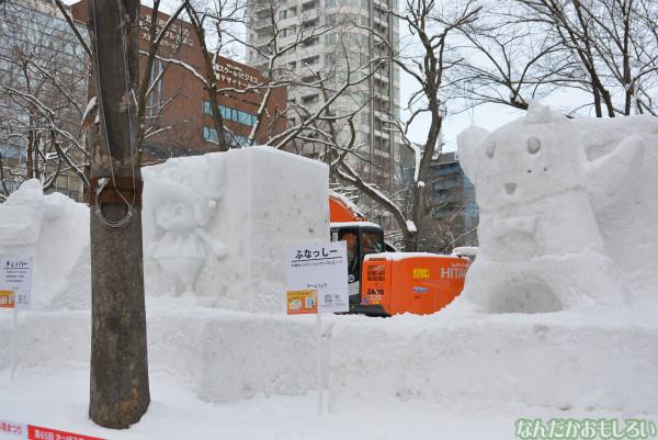 『SNOW MIKU 2014』西11丁目会場の雪ミク雪像や物販の様子などなど_0163