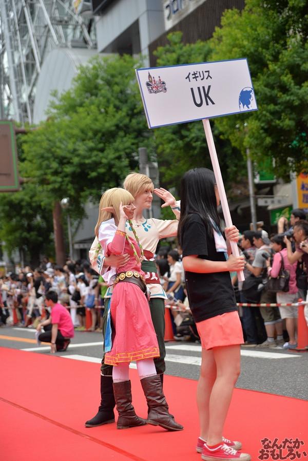 26カ国参加!『世界コスプレサミット2014』各国代表のレイヤーさんが名古屋市内をパレード_0211