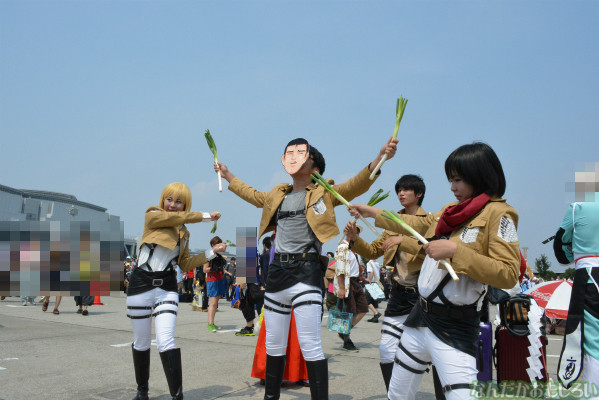『コミケ84』進撃の巨人、ソードアート・オンライン、女性のコスプレイヤーさんまとめ_0016
