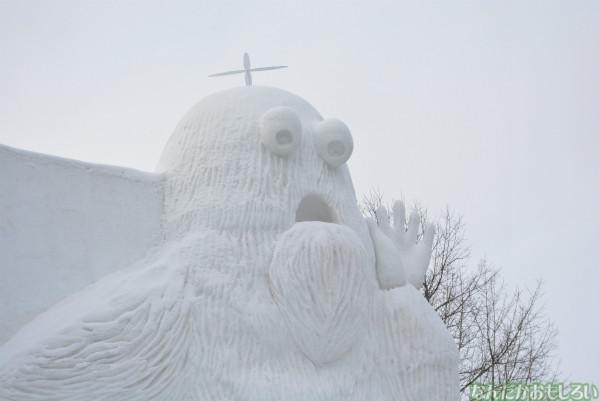 『SNOW MIKU 2014』西11丁目会場の雪ミク雪像や物販の様子などなど_0159
