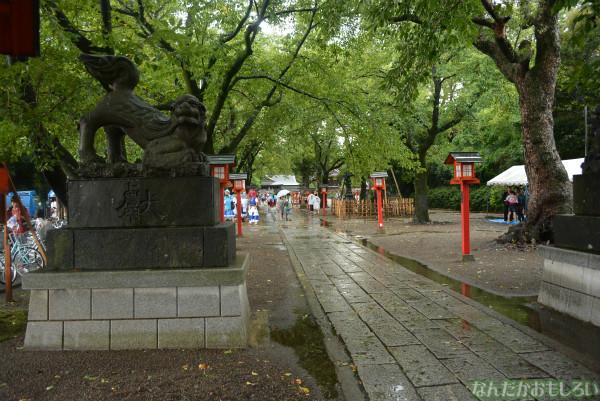 『鷲宮 土師祭2013』ゲリラ雷雨の様子_0665