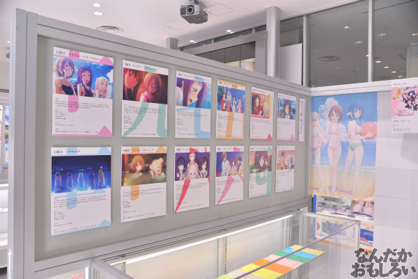 TVアニメ「ハナヤマタ」展が秋葉原で開催!原画、設定資料、台本、コラボ商品など数多く展示!_8495
