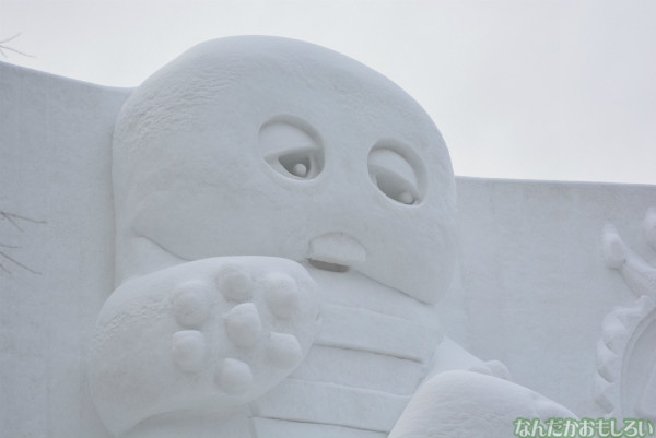 『SNOW MIKU 2014』西11丁目会場の雪ミク雪像や物販の様子などなど_0160
