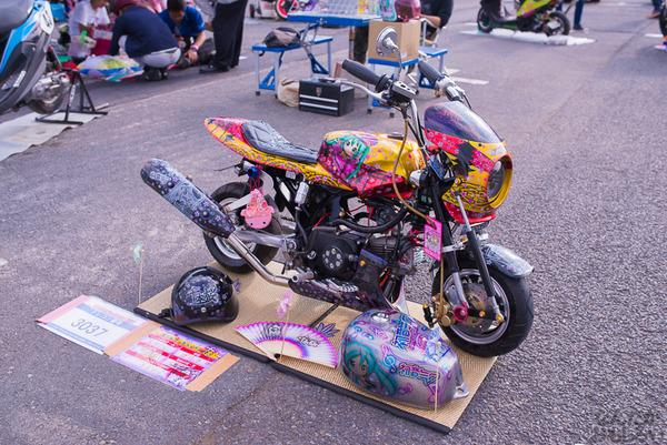 『痛Gふぇすたinお台場2015』痛いバイクもたくさん集結!痛単車まとめ ラブライブ!多め、ミク痛単車とミクレイヤーさんの合わせも_2539