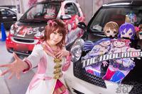 秋葉原UDX駐車場のアイドルマスター・デレマス痛車オフ会の写真画像_6429