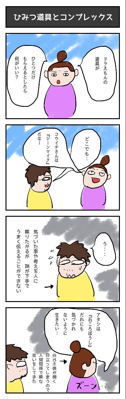 【83】ひみつ道具とコンプレックス