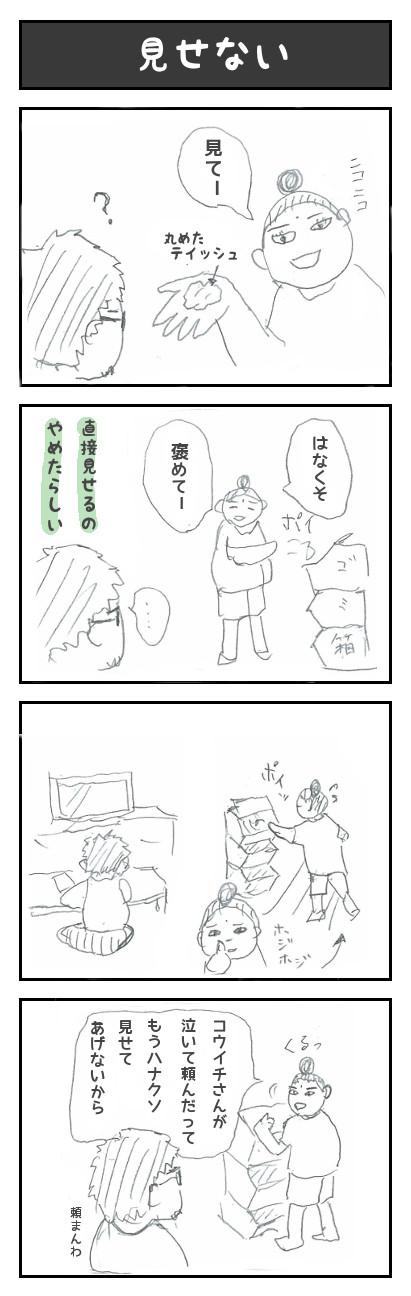 【27】見せない