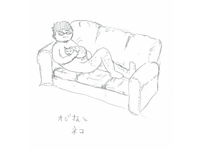 ★14 おじさんとネコ