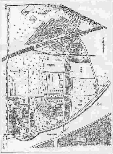 1917thizu1大正6年大阪飛鳥地区