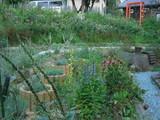 ペンションラビーハウスの庭