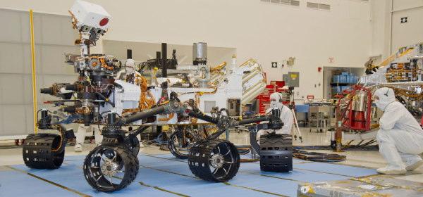 NASAクリーンルーム