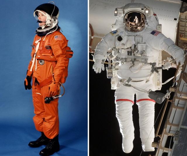 船内用与圧服と宇宙服