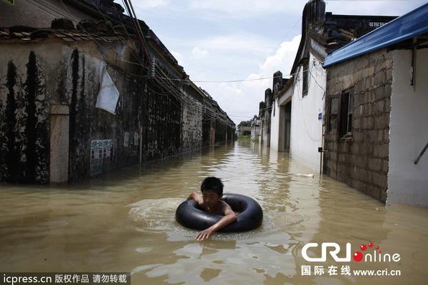 中国で発生した台風11号の被害_4