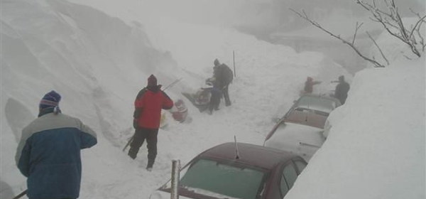ロシアの大雪0